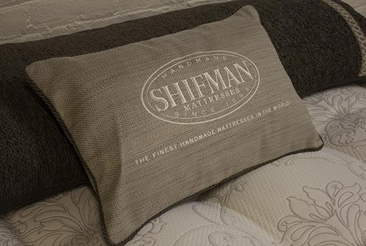 Shifman premium handmade American mattresses at the sleep store in San Jose