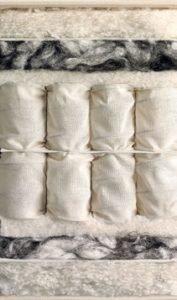 Vispring Tiara Superb mattress cross section